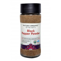 Nature Organic Black Pepper Powder - 100 GMS