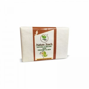 Nature Touch Natural & Organic Soap for Baby's & Kids – 100 GMS