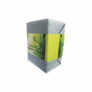 Nature Touch Natural & Organic Bamboo Charcoal Soap – 100 GMS