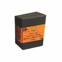 Nature Touch Natural & Organic African Black Mud Soap – 100 GMS