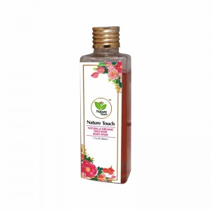 Nature Touch Natural & Organic Wild Rose Body Wash – 200 ML