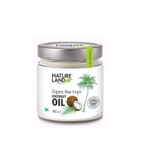 Natureland Organics Coconut Oil - 400 ML