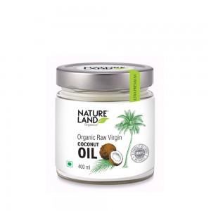 Natureland Organics Coconut Oil - 400 ML