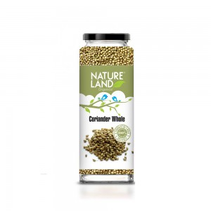 Natureland Organics Coriander Whole - 75 GMS