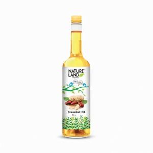 Natureland Organics Groundnut Oil - 1L