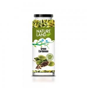 Natureland Organics Green Cardamom - 75 GMS