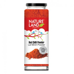 Natureland Organics Red Chilli Powder - 100 GMS