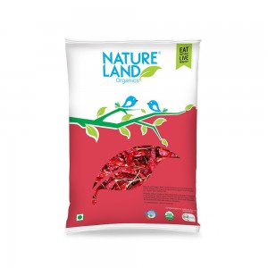 Natureland Organics Red Chilli Whole - 50 GMS