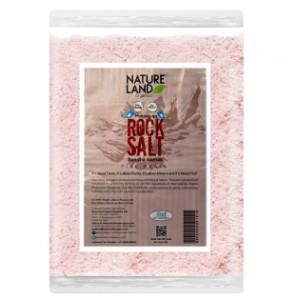 Natureland Organics Himalayan Pink Rock Salt - 500 GMS