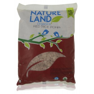 Natureland Organics Red Rice Poha - 500 GMS
