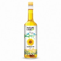 Natureland Organics Sunflower Oil - 1L
