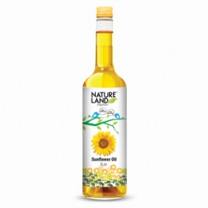 Natureland Organics Sunflower Oil - 1L