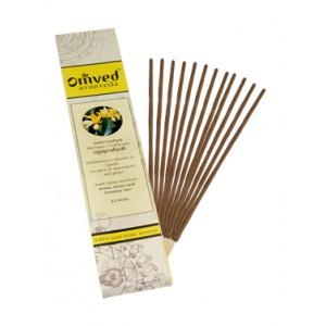 Omved Lifestyle Nagchampa Ayurvedic Agarbattis - 12 Sticks