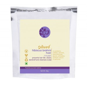 Omved Lifestyle Hibiscus Brahmi Hair Mask - 50 GMS