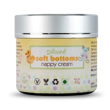 Omved Soft Bottoms Nappy Cream - 40 GMS