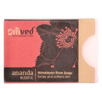 Omved Himalayan Rose Soap (tones and softens skin) - 125 GMS