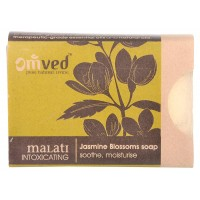 Omved Jasmine Blossoms Soap (soothe, moisture) - 125 GMS