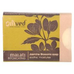 Omved Jasmine Blossoms Soap (soothe, moisture) - 125 GMS