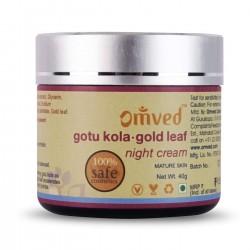 Omved Gotu kola-Gold Leaf (Night Cream) - 40 GMS