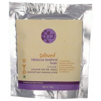 Omved Hibiscus Brahmi Hair Mask - 50 GMS