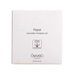 Omved Repel Ayurvedic Mosquito Repellent Coil - 8 Coils