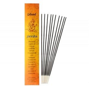 Omved Lifestyle Ganesh Deity Incense Sticks - 10 Sticks
