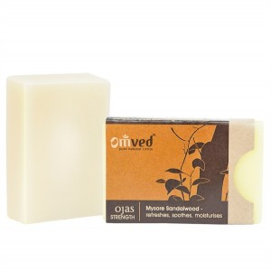 Omved Lifestyle Ojas Sandalwood Soap - 125 GMS