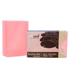Omved Lifestyle Kamalika Lotus Vetiver Soap - 125 GMS