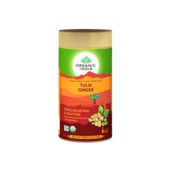 Organic India Tulsi Ginger Tea - 100 GMS