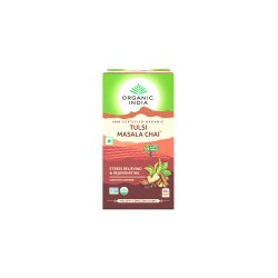 Organic India Tulsi Masala Chai Tea - 25 Tea Bags