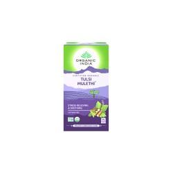 Organic India Tulsi Mulethi Tea - 25 Tea Bags