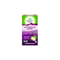Organic India Tulsi Green Tea Jasmine Tea - 25 Tea Bags