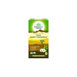 Organic India Tulsi Honey Chamomile Tea - 25 Tea Bags