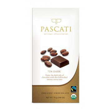 Pascati Indulgence Bar, 72% Dark, 75g