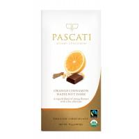 Pascati Indulgence Bar, Orange, Cinnamon & Hazelnuts, 75g