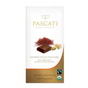 Pascati Indulgence Bar, Saffron & Pistachios, 75g