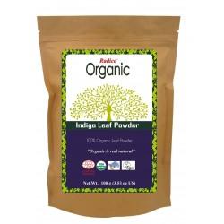 Radico Organic Indigo Leaf Powder - 100 GMS
