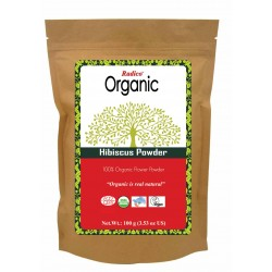 Radico Organic Hibiscus Powder - 100 GMS