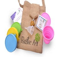 Rustic Art Collapsible Menstrual Cup