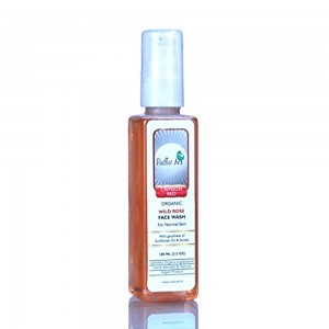 Rustic Art Organic Rose Face Wash - 100 ML