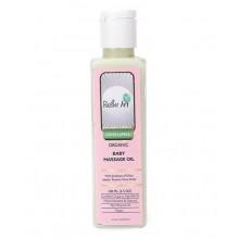 Rustic Art Organic Baby Massage Oil (Green Apple) - 100 ML