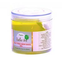 Rustic Art Organic Aloe Vera Neem Basil Gel - 100 GMS