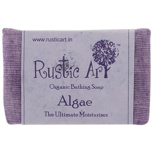 Rustic Art Organic Algae Soap - 100 GMS