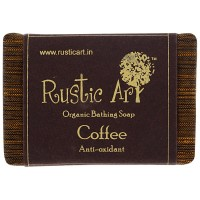 Rustic Art Organic Coffee Soap - 100 GMS