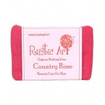 Organic Country Rose Soap - 100 GMS