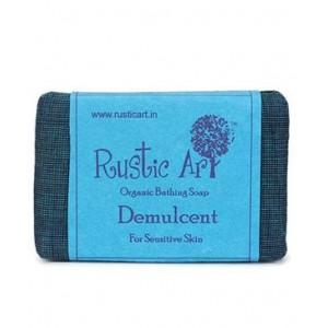 Rustic Art Organic Demulcent Soap - 100 GMS