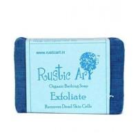 Rustic Art Organic Exfoliate Soap - 100 GMS