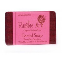 Rustic Art Organic Facial Soap - 100 GMS