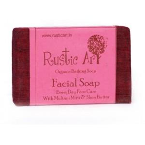 Rustic Art Organic Facial Soap - 100 GMS