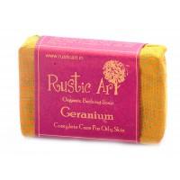 Rustic Art Organic Geranium Soap 100 GMS